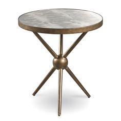 Silver Lake Wide Walnut Modern Round End Table Metal Furniture, Furniture Sale, Cheap Furniture, Table Furniture, Living Room Furniture, Furniture Websites, Table Desk, Furniture Companies, Rustic Furniture