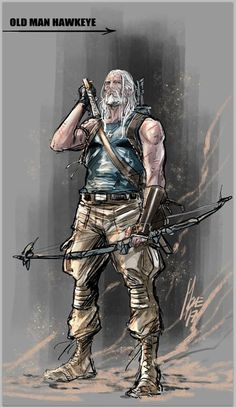 Marvel reveals upcoming comic book prequel series 'Old Man Hawkeye' Marvel Characters, Marvel Heroes, Marvel Avengers, Jeremy Renner, Marvel Universe, Hawkeye Costume, Kate Bishop Hawkeye, Hawkeye Comic, Comic Art