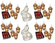 Kaltner Präsente Weihnachtskugeln Anhänger aus Glas, 26 Stück, Gold und Silber, handbemalt Kaltner Präsente http://www.amazon.de/dp/B0062WR7UQ/ref=cm_sw_r_pi_dp_-BSOub0D6P1QJ
