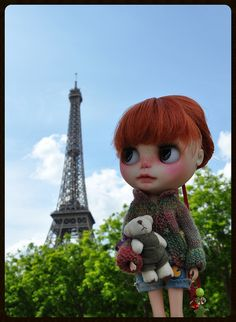 Stroll in Paris with Jules (the bear) and Vernes | Flickr - Photo Sharing!