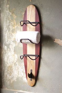 "interior-design-home: ""surfboard towel rack ( HID ) """