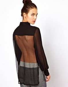 Enlarge Pippa Lynn Shirt With Mesh Back I Believe In Pink, Classy And Fabulous, Happy Girls, Catwalk, Asos, Mesh, Heart, Pretty, Sleeves