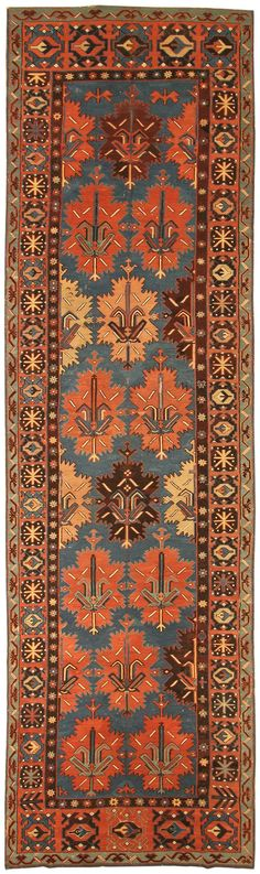 Antique Kuba Kilim Runner
