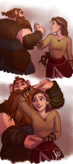 Stoick and Valka