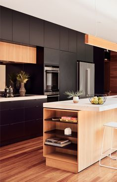 Image 10 of 15 from gallery of Blackburn House / ArchiBlox. Photograph by Tom Ross Home Decor Kitchen, Kitchen Furniture, Kitchen Interior, New Kitchen, Kitchen Dining, Home Furniture, Furniture Movers, Furniture Websites, Furniture Dolly