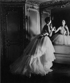 Louise Dahl-Wolfe, Dior Ballgown 1950