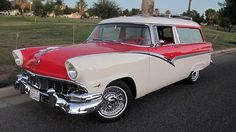 1956 Ford Parklane Wagon GoodGuys Del Mar Award of Excellence presented as lot S157 at Houston, TX 2015