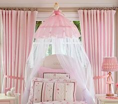Girls canopy bed can be as simple as a narrow cloth on the wall near the head or full surround wall heavy curtains to protect chills of the night, but Bed For Girls Room, Little Girl Rooms, Girls Bedroom, Bedroom Ideas, Bed Ideas, Bedroom Decor, Kid Bedrooms, Dream Bedroom, Nursery Ideas