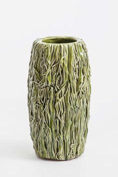 Lone Skov Madsen; Glazed Ceramic Vase, 2005.
