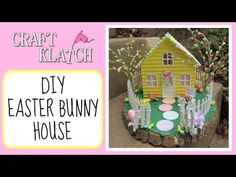 ▶ DIY Resin Easter Bunny House Craft Klatch Easter Series - YouTube