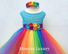 Mi Little Pony cumpleaños vestido del tutú vestido por MimozaLuxury