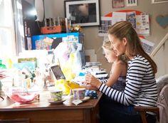 Job und Kind – Arbeiten im Home-Office Ein Home-Office mag bequem sein und einige Vorteile haben – ist jedoch nichts für jeden.