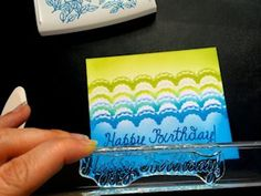 Die Cut Stencils by Korin Sutherland  Use die cuts for masking and stencil effects.