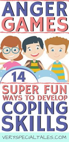 Management Games for Kids_ A Fun Way to Develop Coping Skills Best way to learn anger management skills for kids. Anger games are a great resource ( and fun!) to help kids develop coping skills and emotional self-regulation. Great for home, school or at c Counseling Activities, Sensory Activities, Kids And Parenting, Parenting Hacks, Teaching Kids, Kids Learning, Anger Management For Kids, Behavior Management, Money Management