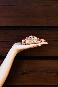 Raspberry Buttermilk Scones | my blue&white kitchen