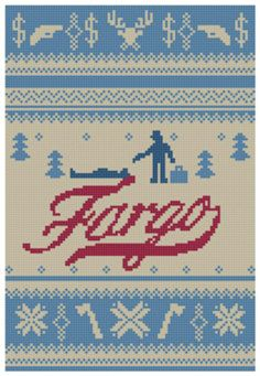 Fargo Mini Series Crossstitch Pattern by eXedesign on Etsy