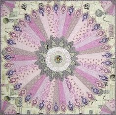 Large #Dresden Plate #Quilt