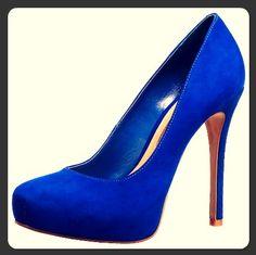 Buffalo Pumps #blue #pumps