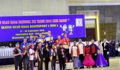 Tim dansa Jawa Barat berhasil meraih titel juara umum pada perhelatan akbar multi event #PON2016 dengan total raihan 6 emas, 3 perak, dan 3 perunggu.   Disusul posisi kedua dengan raihan 4 medali emas oleh Jawa Timur dan di posisi ketiga ditempati Sulawesi Selatan dengan 2 medali emas, 4 medali perak, dan 1 medali perunggu.