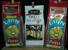 New Lion toasted coconut coffee three sets of flavored coffee great gift ideas