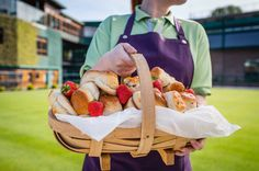 We bake 133,800 scones over 2 weeks for the Wimbledon Fortnight!