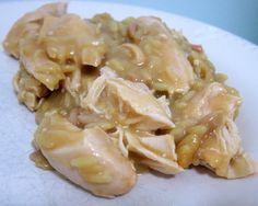 Crock Pot Chicken & Gravy | Plain Chicken
