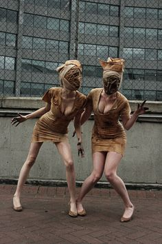 Silent Hill creepy Nurses ..