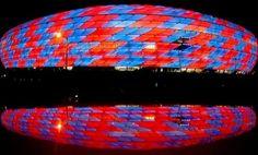Allianz Arena. Home of FC Bayern Munich