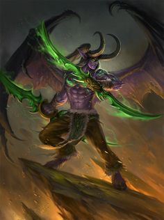 we are interrupting our dragons broadcast in favor of our lord and savior Illidan. ~~~~~~~ I'm also trashing the previous one coz it was crappy. ~~~~~~~ Yeap, I caved and went back to WoW. Got a su...