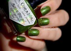 Anna Galaxy: El Corazon. Active Bio-gel Colour Gel Polish Лак для ногтей из серии Gemstones № 423/468 Emerald