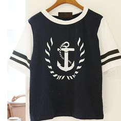 Material:cotton Color:dark+blue,white Size:free Bust:100+length:58+shoulder:41