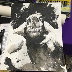 Hulk by @matteoscalera by sequenceart