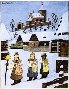 Three Wise Men, Naive Art, Russian Art, Children's Book Illustration, Childrens Books, Illustrators, Fairy Tales, Drawings, Artist