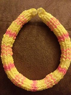 Hexafish Bracelet Rainbow Loom by ButtonsBetwixtRibbon on Etsy, $4.00