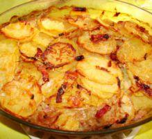 Recette - Pommes de terre à la boulangère - Proposée par 750 grammes
