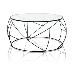 48 Ideas for luxury furniture design couch coffee tables Coffee Table 2019, Round Glass Coffee Table, Round Coffee Table, Modern Coffee Tables, Glass Table, Black Outdoor Furniture, Small Bedroom Furniture, Bedroom Furniture Makeover, Luxury Furniture