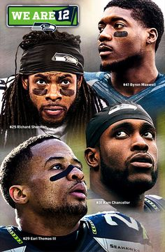 Seattle Seahawks - Byron Maxwell, Richard Sherman, Kam Chancellor and Earl Thomas