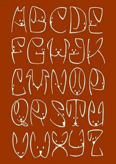 doggy alphabet