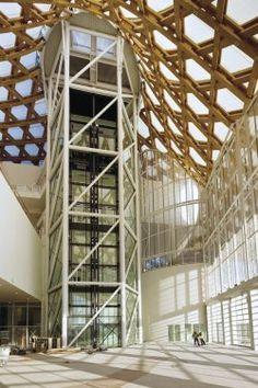 Dřevěné zastřešení Centra Georges Pompidou-Metz | Stavebnictvi3000.cz