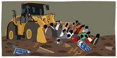 Για τα μπάζα: Όταν όλο το χάλι που ζούμε τελευταία είναι αποτυπωμένο σε μία γελοιογραφία