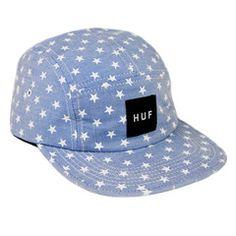 HUF STARS VOLLEY // CHAMBRAY