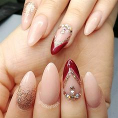 Bridal Manicure by MisAshton from Nail Art Gallery