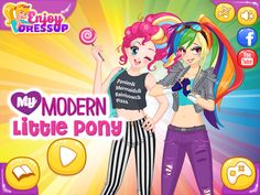 Play My Modern Little Pony and have fun with this gorgeous dressup game! Games For Girls, Little Pony, Fun Games, Have Fun, Character Design, Amazing, Modern, Cool Games, Mlp