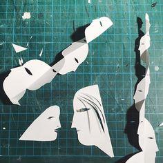 playing with paper Kaye Blegvad