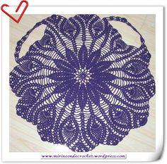 Increíble chaleco circular con piñas…sin palabras!!! | Mi Rincon de Crochet