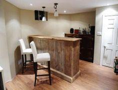 7 Foot Bar - Reclaimed Barn Baord