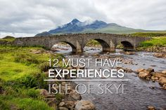 Best things to do on the Isle of Skye: Old Man of Storr, Quiraing, Neist Point, Fairy Pools, Brother's Point, Kilt Rock, Fairy Glen.