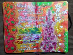 Draw Daily: Do you suppose she's a wildflower?