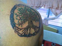 Hecho por Ben Fuentes Romero en Cali Tlahpali Tattoo Co Cd de México 2014