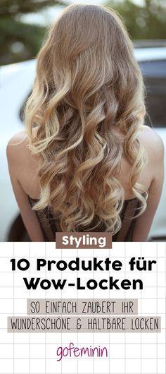 10 Produkte für Wow-Locken: SO zaubert ihr sie wunderschön und haltbar!